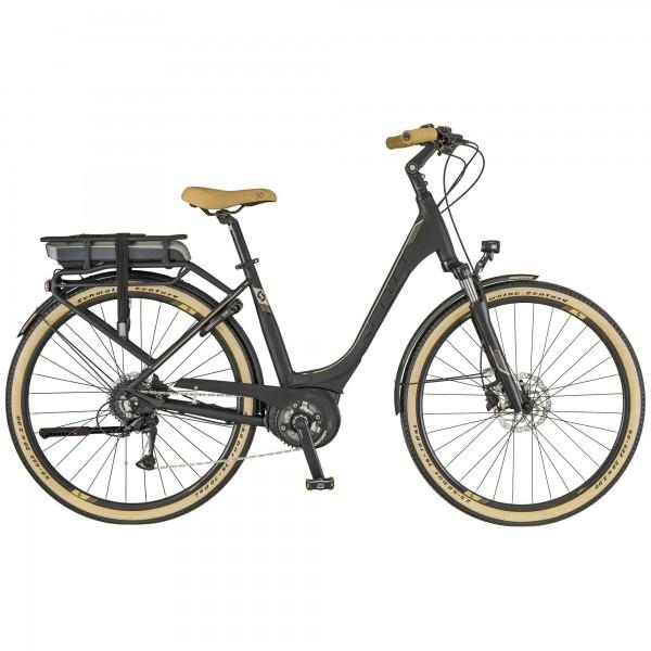 Bicicleta con portabultos SCOTT E-Sub Active Unisex