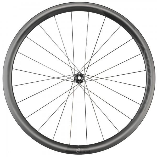 Syncros RP1.0 Disc 38 mm Carbon, rueda delantera