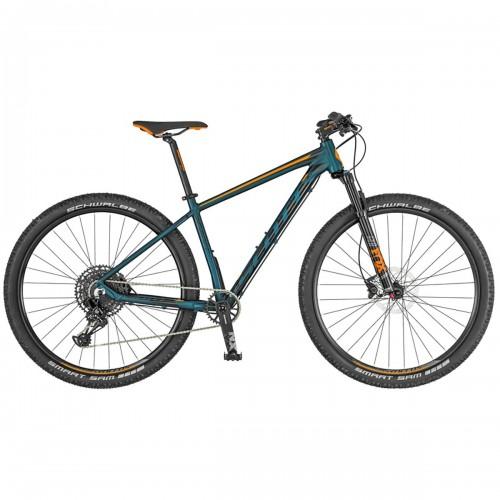 Bicicleta SCOTT Aspect 900 verde cobalto/naranja