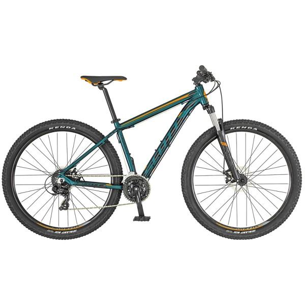 Bicicleta SCOTT Aspect 970 verde cobalto/naranja