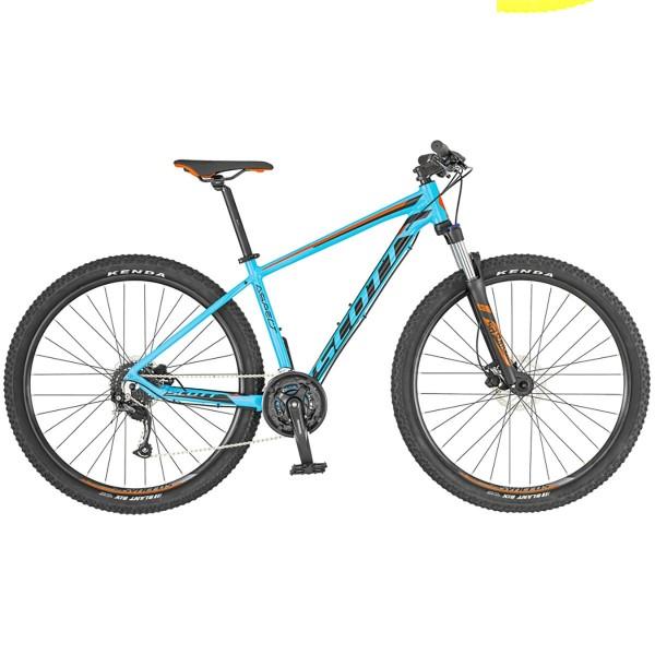 Bicicleta SCOTT Aspect 750 azul claro/rojo