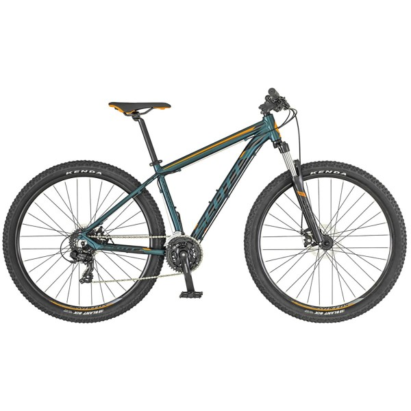 Bicicleta SCOTT Aspect 770 verde cobalto/naranja
