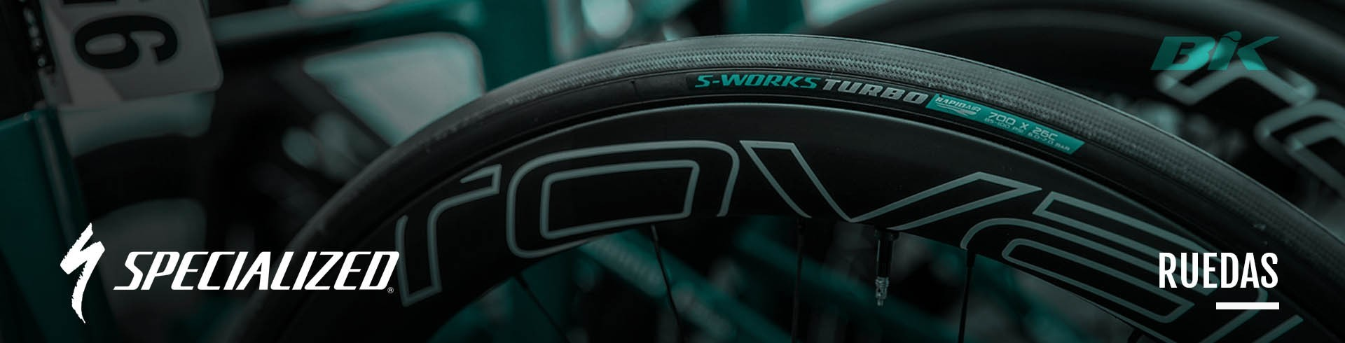 Bike wheels Roval - road